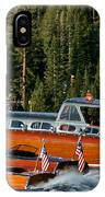 Wooden Runabouts Of Tahoe IPhone Case