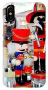Wooden Soldiers IPhone Case