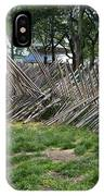 Wooden Spiked Fence IPhone Case