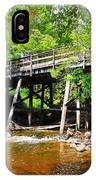 Wooden Suspension Bridge IPhone Case