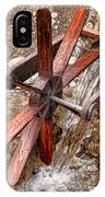 Wooden Water Wheel IPhone Case