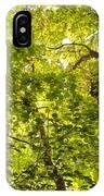 Woodland Background 02 IPhone Case