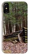 Woodland Cabin Ruins IPhone Case