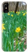 Woodland Daffodils IPhone Case