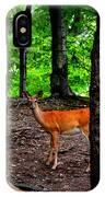 Woodland Deer IPhone Case