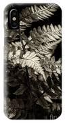 Woodland Fern IPhone Case