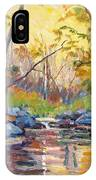 Woodland Sketch IPhone Case