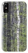 Woodland Spring IPhone Case