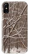 Woodland Winter IPhone Case