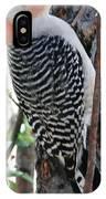 Woodpecker Profile Ll IPhone Case