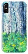 Woods 1 IPhone Case