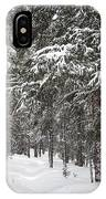 Woods In Winter IPhone Case