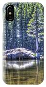Woods Lake 1 IPhone Case