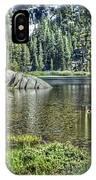 Woods Lake 2 IPhone Case