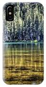 Woods Lake 3 IPhone Case
