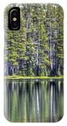 Woods Lake 4 IPhone Case
