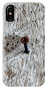 Woodscrew IPhone Case