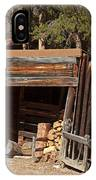 Woodshed On The Holzwarth Historic Site IPhone Case