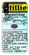 Woodstock Side 1 IPhone Case