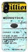 Woodstock Side 4 IPhone Case