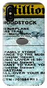 Woodstock Side 5 IPhone Case