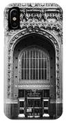 Woolworth Building Entrance IPhone Case