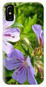 Wooly Geranium In Katmai National Preserve-ak  IPhone Case