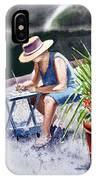 Working Artist IPhone Case