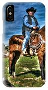 Working The Ranch IPhone Case