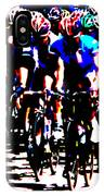 Working Together To Catch The Leader IPhone Case