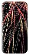 Works Of Fire V IPhone Case