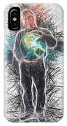 World In His Hands IPhone Case