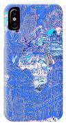 World Map Landmark Collage 8 IPhone Case