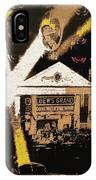 World Premier Gone With The Wind Loew's Grand Theater Atlanta Georgia December 1939-2008 IPhone Case
