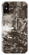 World War I Paris Bombed IPhone Case