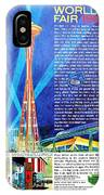 Worlds Fair 1962 IPhone Case
