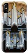 Worms Cathedral Organ IPhone Case