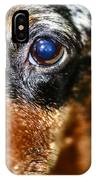 Worried Wiener IPhone Case