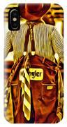 Wrangler Clown IPhone Case