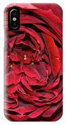 Wrapped Red IPhone Case