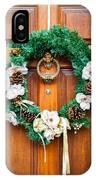Wreath 27 IPhone Case