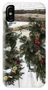 Wreaths For Sale Colonial Williamsburg IPhone Case