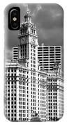 Wrigley Building Chicago Illinois IPhone Case