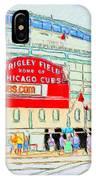 Wrigley Field Sketch IPhone Case