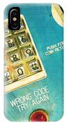 Wrong Code IPhone Case