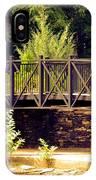 Wrought Iron Bridge IPhone Case