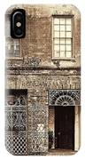 Wrought Iron Gates IPhone Case