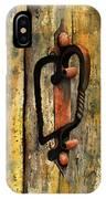 Wrought Iron Handle IPhone Case