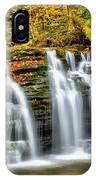 Wyandot Falls Ricketts Glen IPhone Case