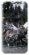 Wylie Coach Yellowstone National Park IPhone Case